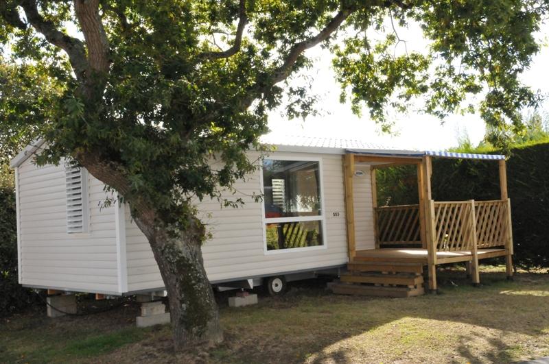 Cottage Pacifique 2 chambres : 27 m² + 9 m² terrasse  couverte
