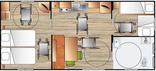 Handi-cottage - adapté pour personnes à mobilité réduite