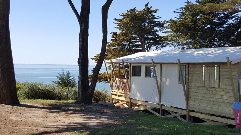 Lodge sur pilotis VUE MER 32m² + terrasse 10m²