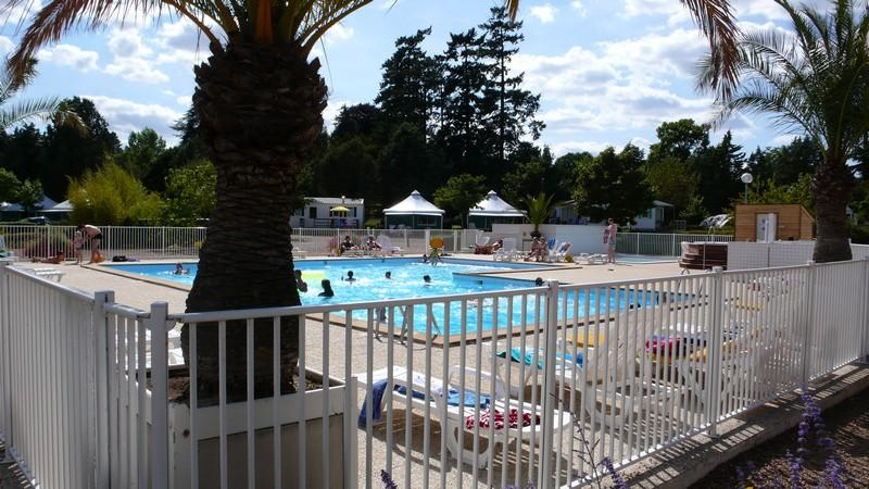 Baignade Camping D'angers - Lac De Maine - Angers