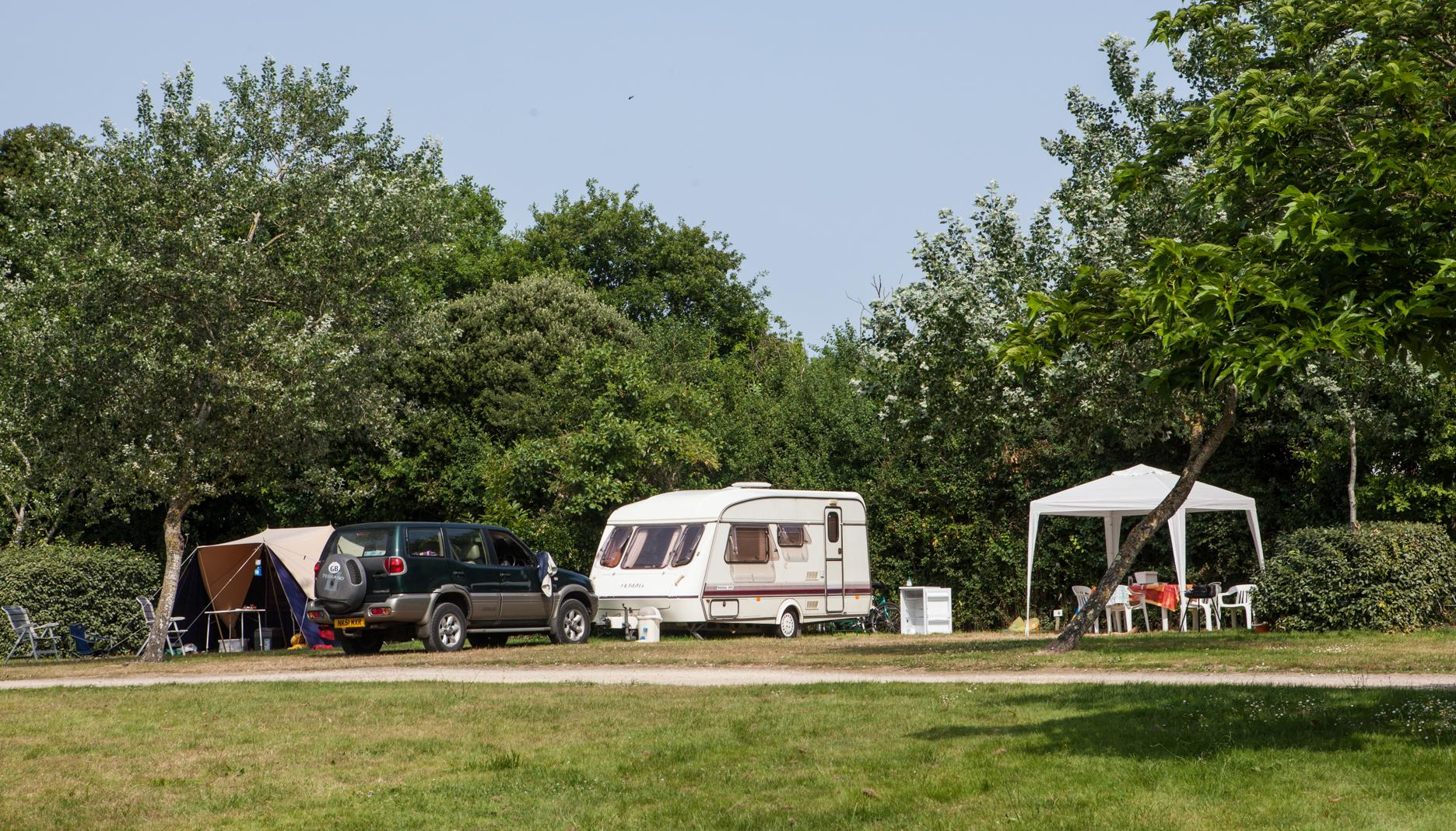Emplacement - Standard 160-250M² Caravane Ou Tente - Village de la Guyonnière