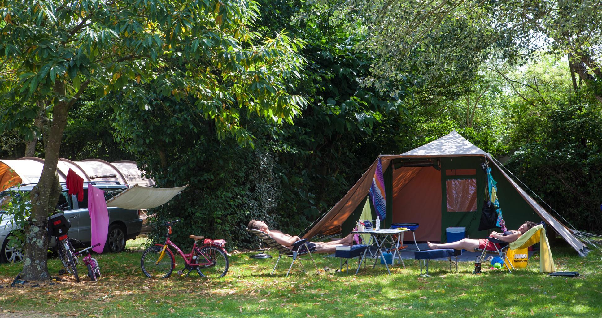 Emplacement - Standard 100-150M² Tente - Village de la Guyonnière