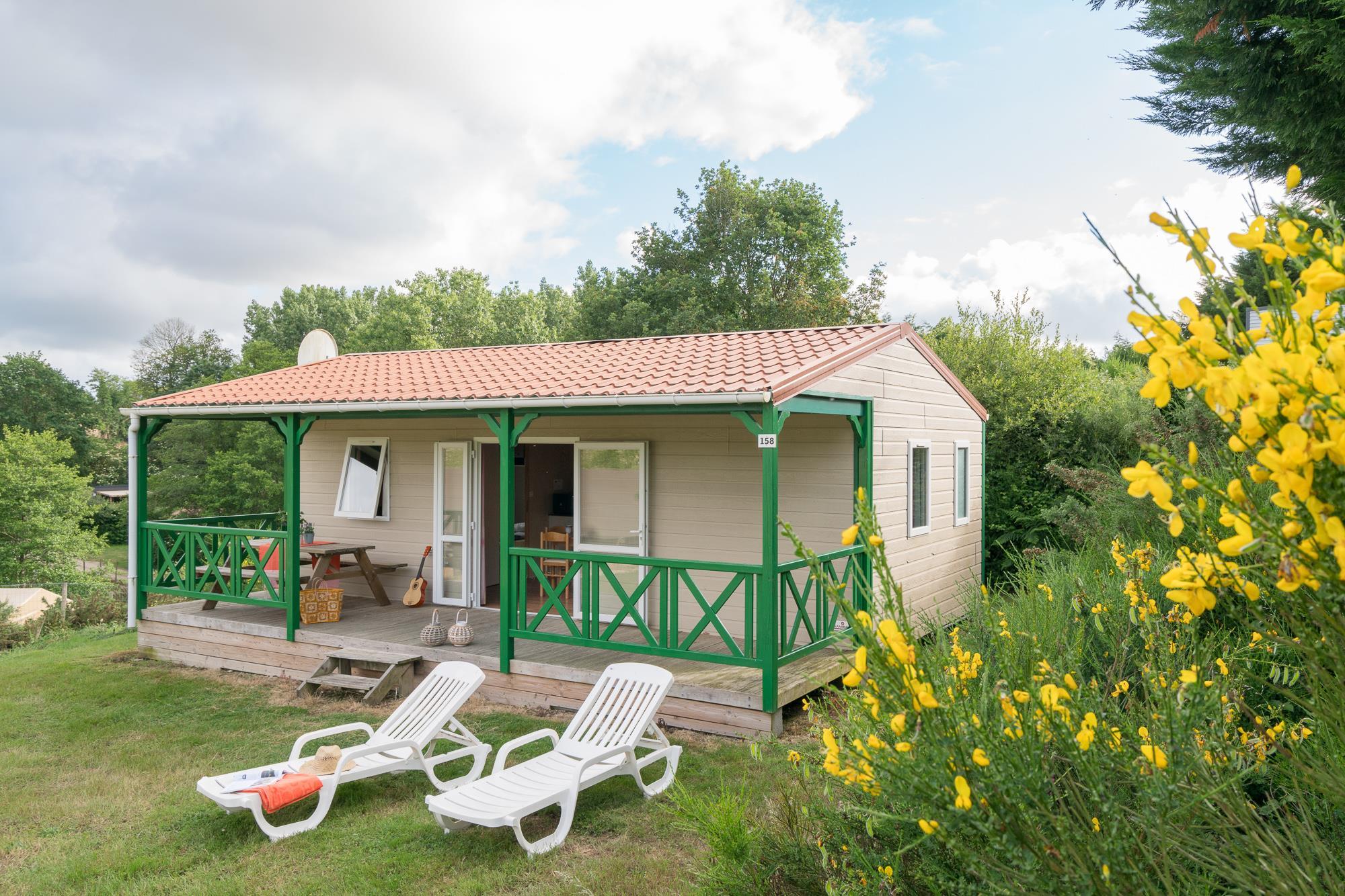 Location - Chalet 32M² - 6 Pers - Village de la Guyonnière