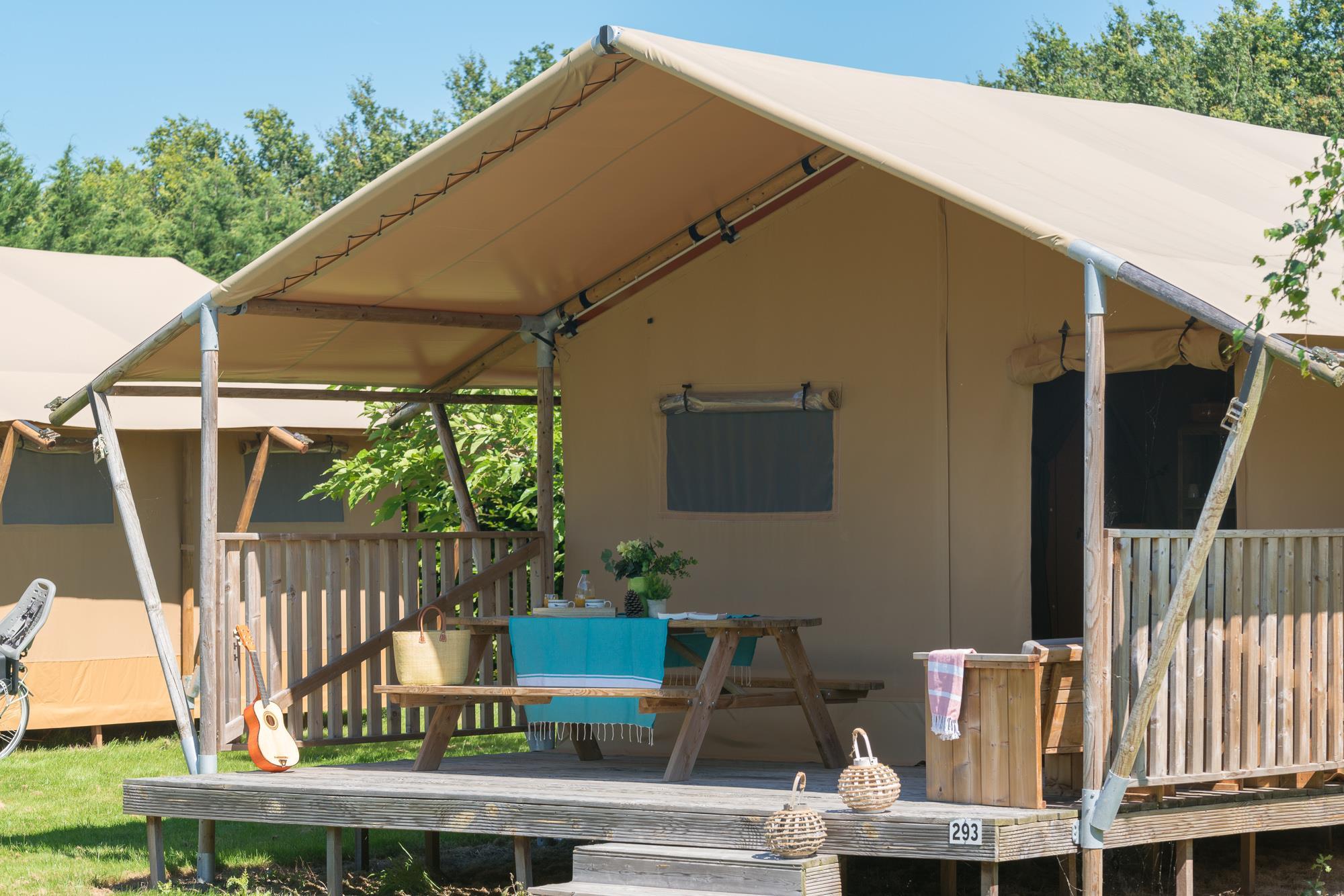 Location - Woody Lodge, Climatisée 6 Pers 2 Ch. - Village de la Guyonnière