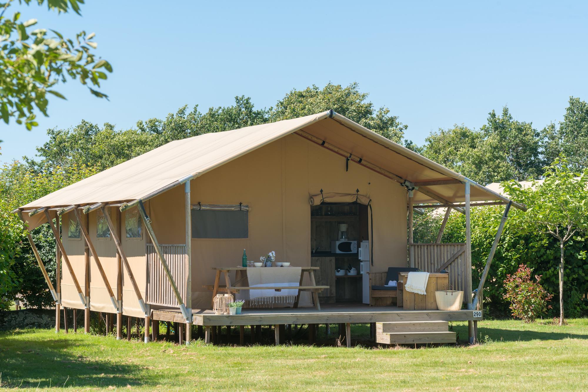 Location - Woody Lodge Climatisée 6 Pers 3 Ch. - Village de la Guyonnière
