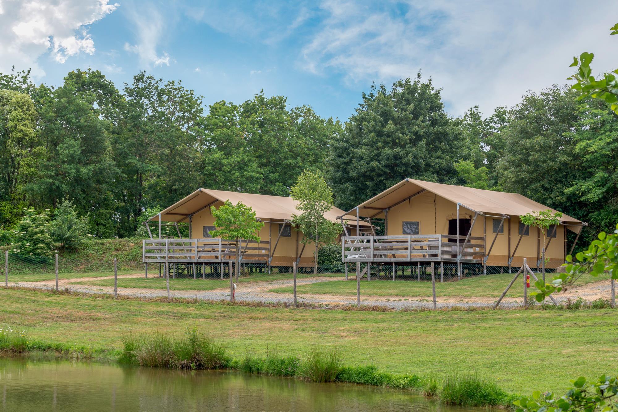 Location - Safari Lodge, Climatisée - 6 Pers - Village de la Guyonnière