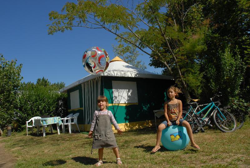 Bungalow tenda BENGALI ECO 16m² - 2 camere (senza sanitari)