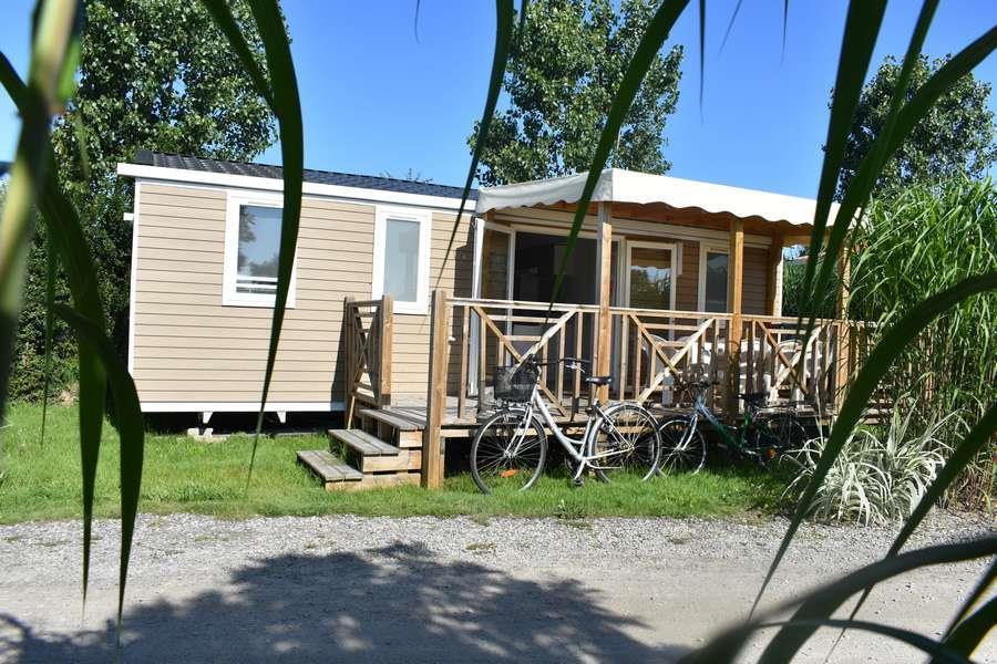 Casa mobile CONFORT + 32m² - 3 camere + terrazzo coperto