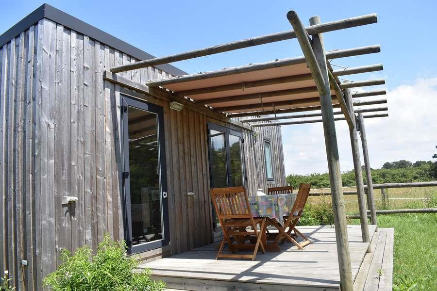 Mobil Home PREMIUM 28m² - 2 camere + terrazzo coperto