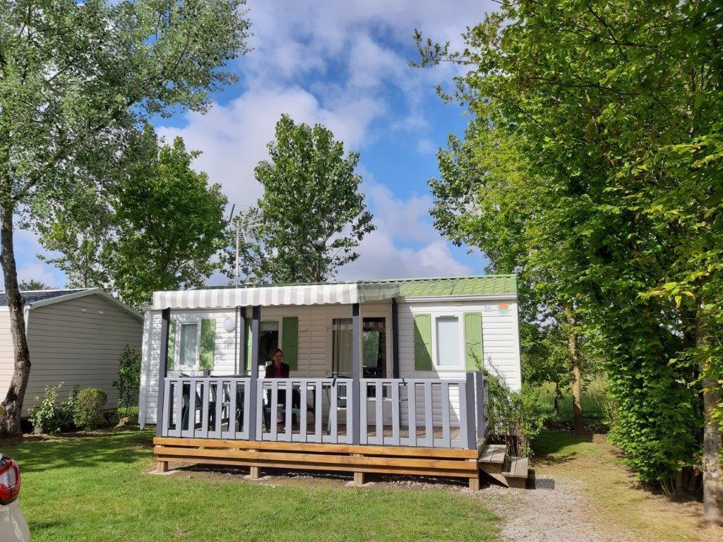Mobile home CONFORT IBIZA 2 chambres (2007) TV incluse