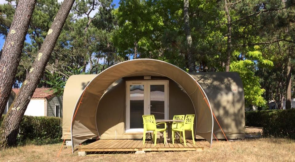 Tent Lodge Coco Sweet 2 Bedrooms - Without Sanitary Facilities