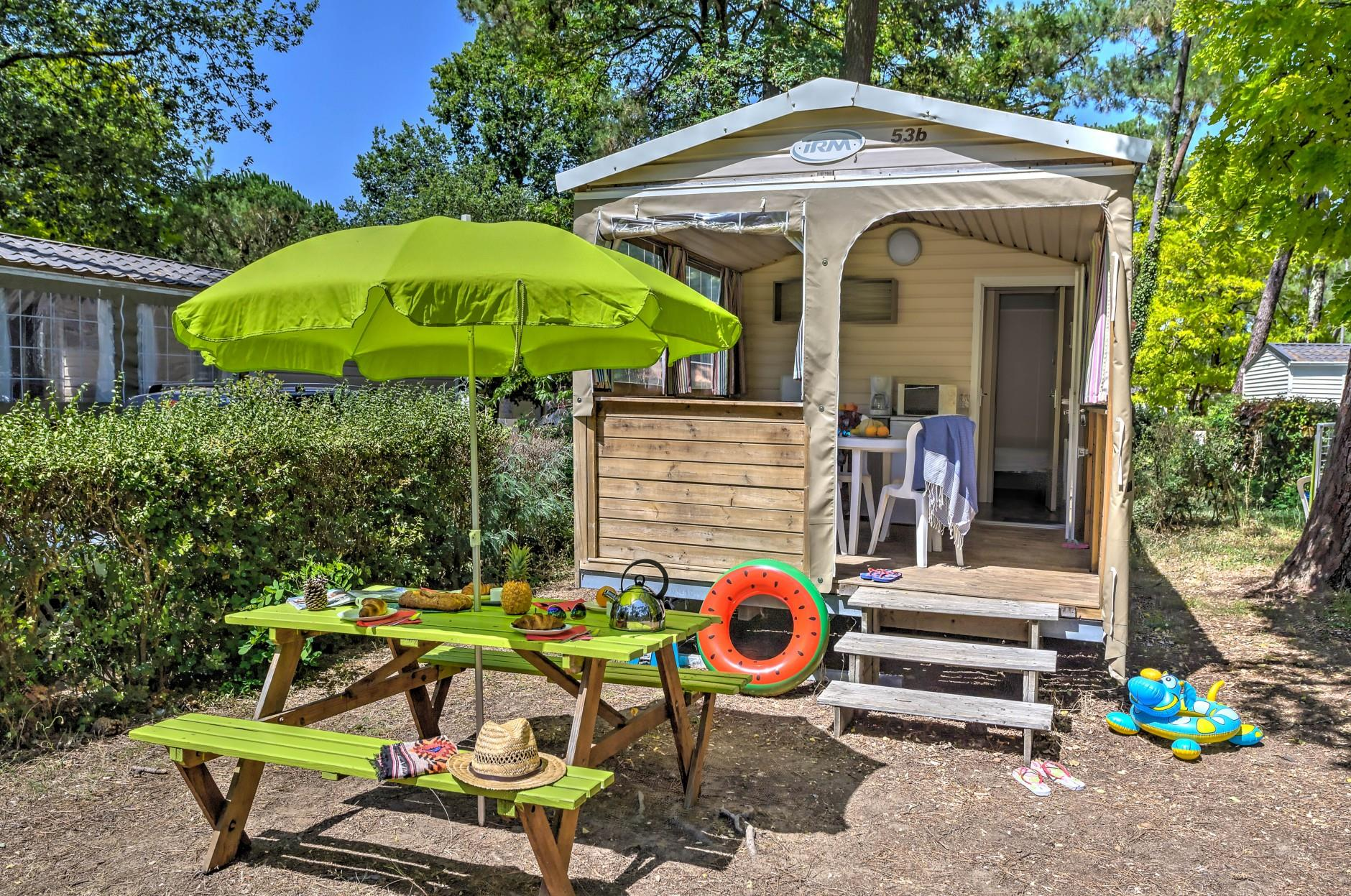 Cabin Nature 2 Bedrooms - Without Sanitary Facilities