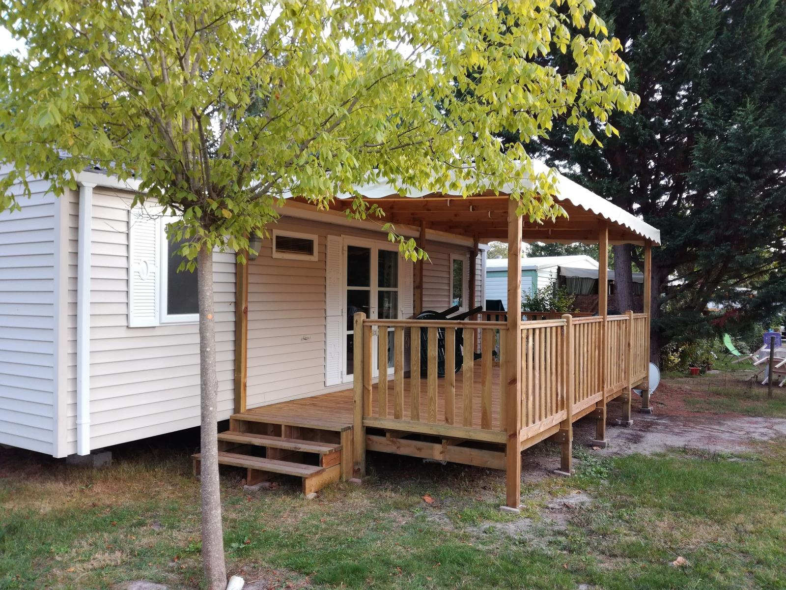 Location - Mobilhome 2 Chambres Grand Confort - 34M² * - Camping L'Arbre d'Or
