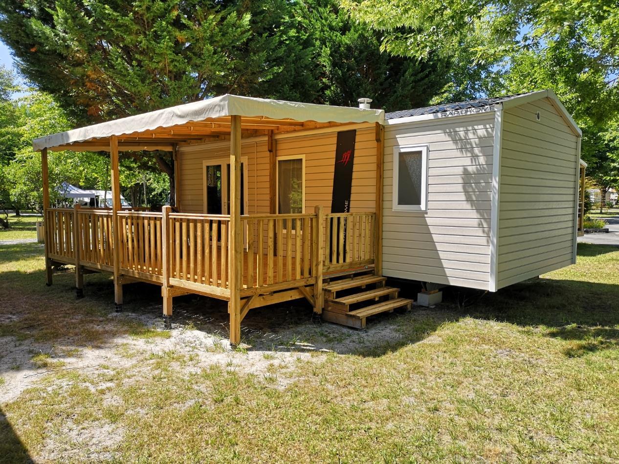 Location - Mobil Home 2 Chambres Confort- 30M² * - Camping L'Arbre d'Or