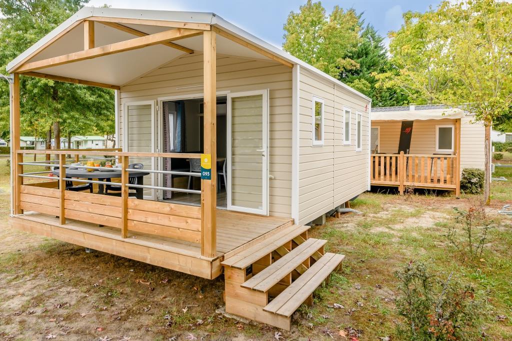 Location - Mobil Home 1 Chambre Confort - 20M² * - Camping L'Arbre d'Or