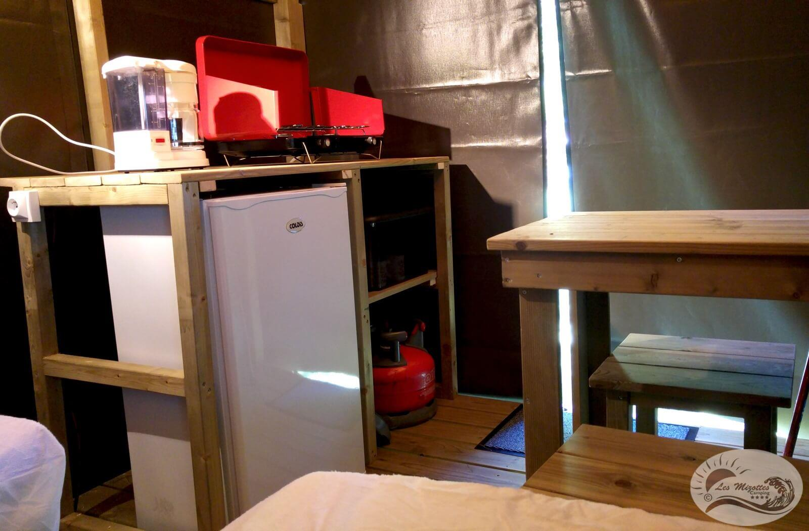 Location - Lodg'yssée 1 Chambre 7 M² - Camping Les Mizottes