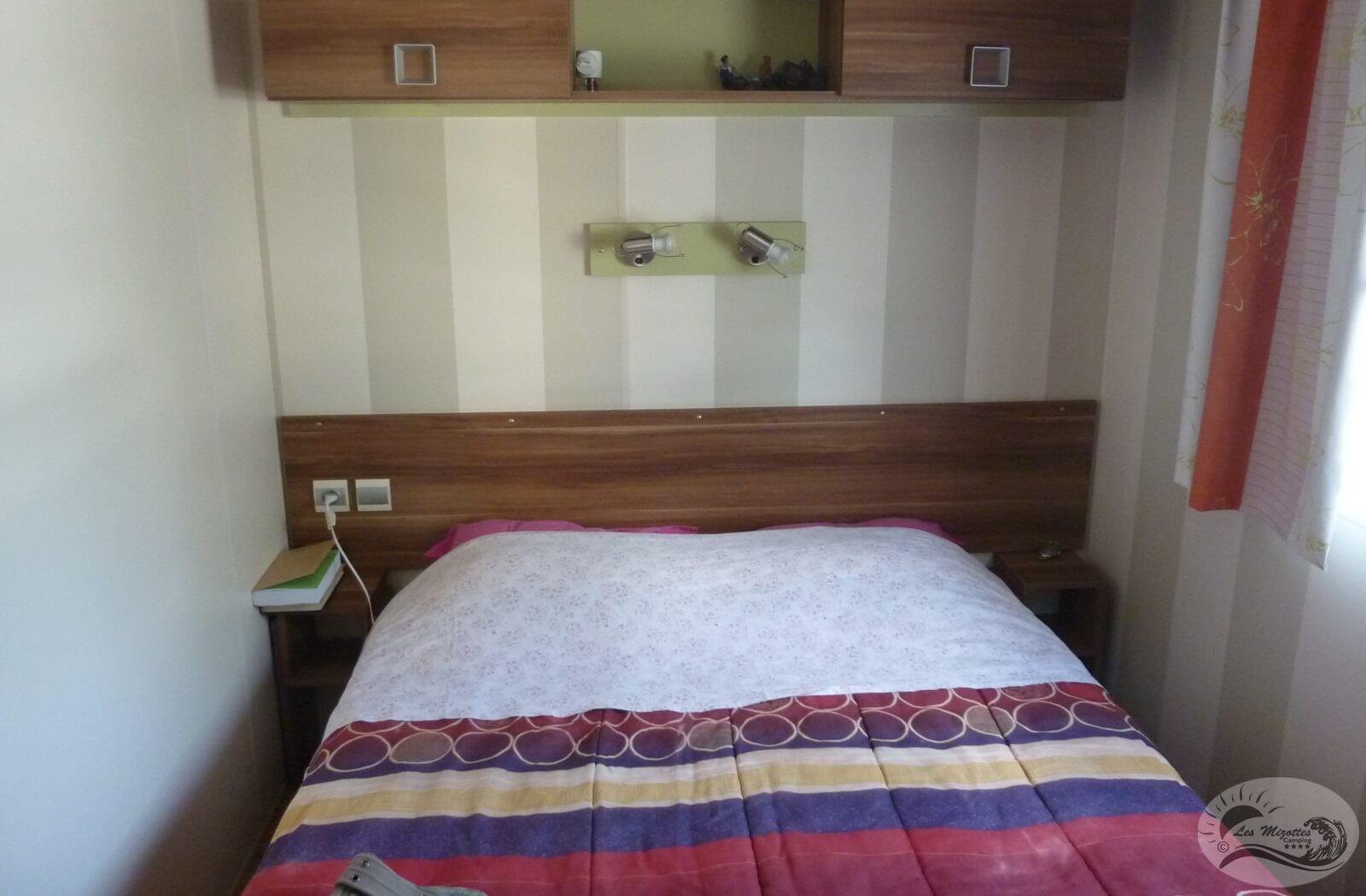 Location - Mobil-Home Premium 2 Chambres 25 À 28 M² - Camping Les Mizottes