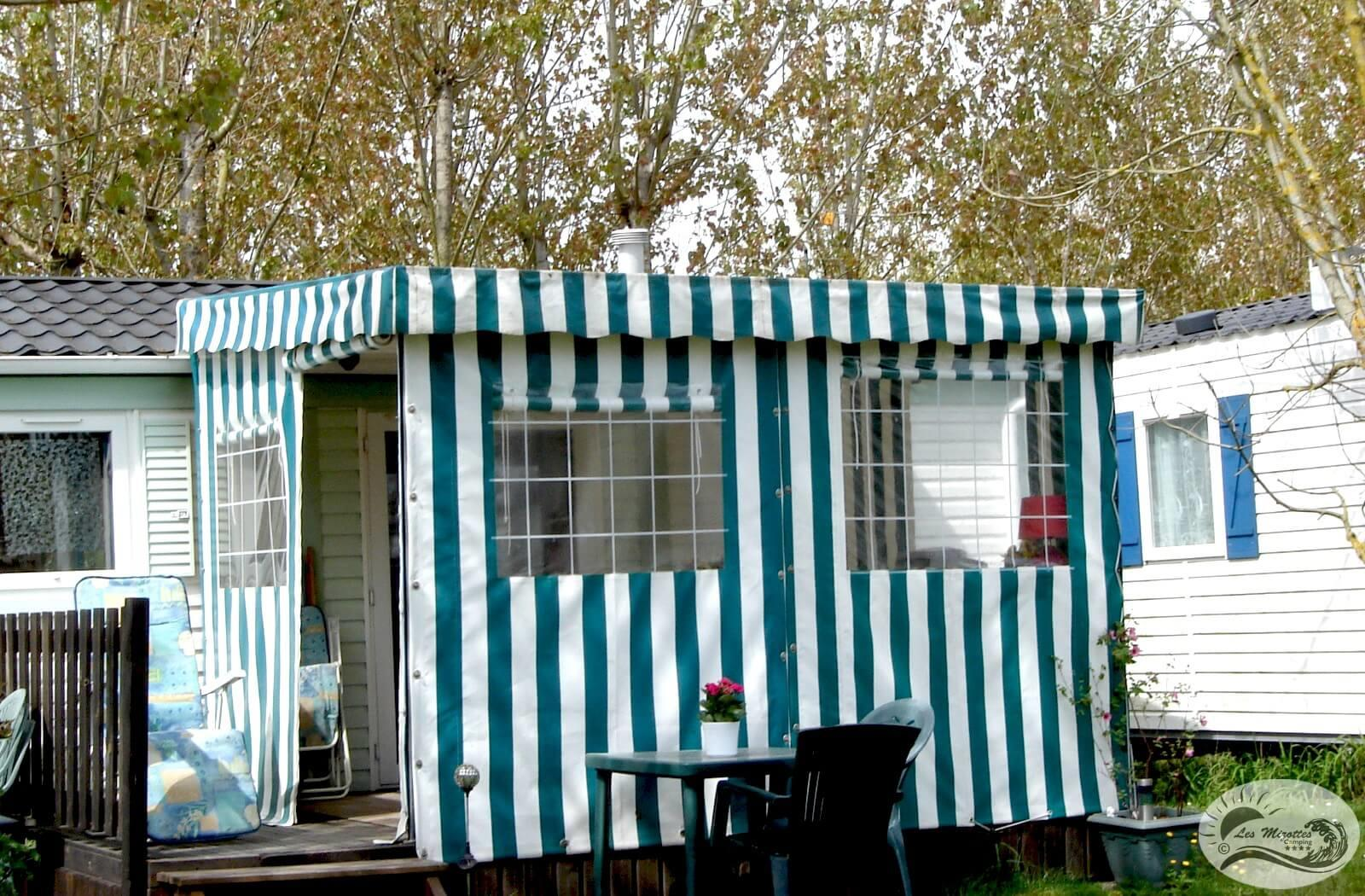 Location - Mobil-Home Confort 2 Chambres 25 À 28 M² - Camping Les Mizottes