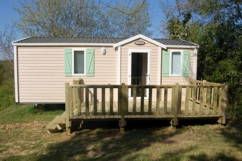 Location - Mobil-Home Imr Super Mercure - 30 M² - Camping De Bergougne