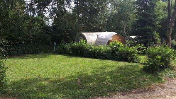 Emplacement - Emplacement Tente - Camping De Bergougne