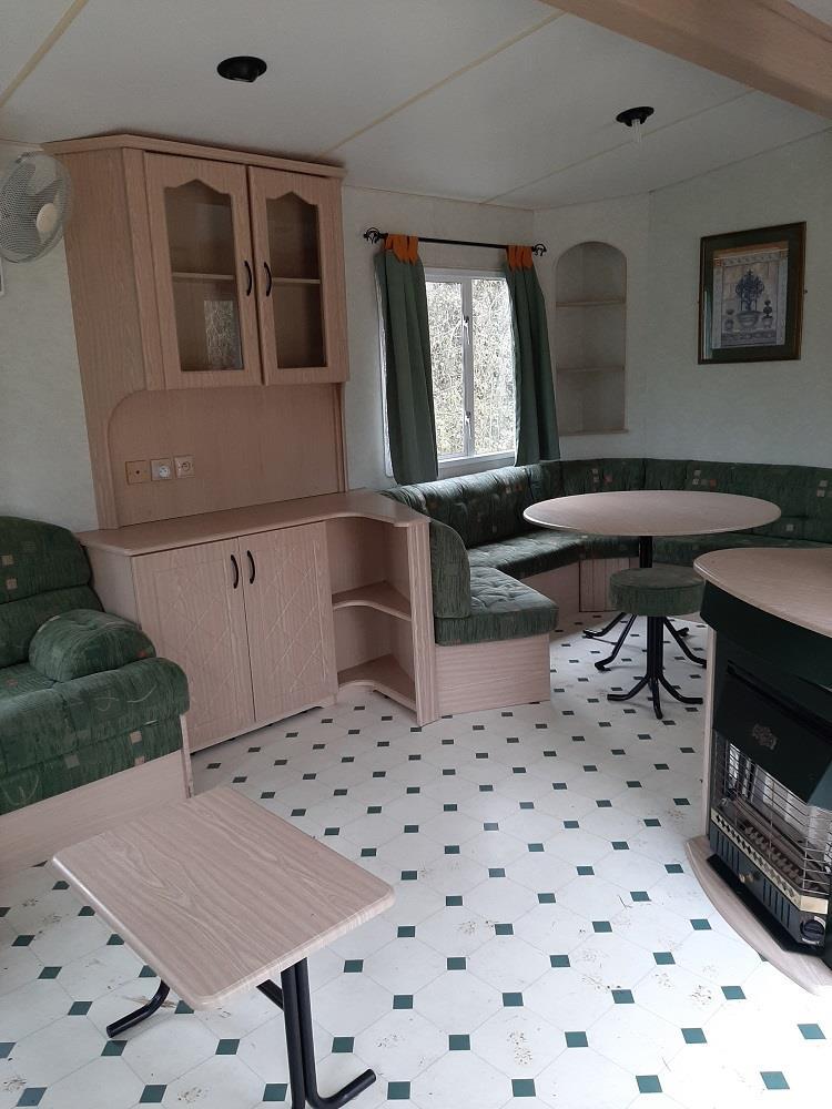 Location - Mobil Home Cosalt Excellence 44M² Climatisée. Extérieur Grande Terrasse - Camping De Bergougne