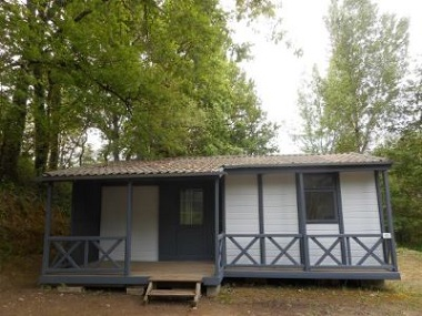Location - New-Chalet 3 Chambres 35M² - Camping De Bergougne