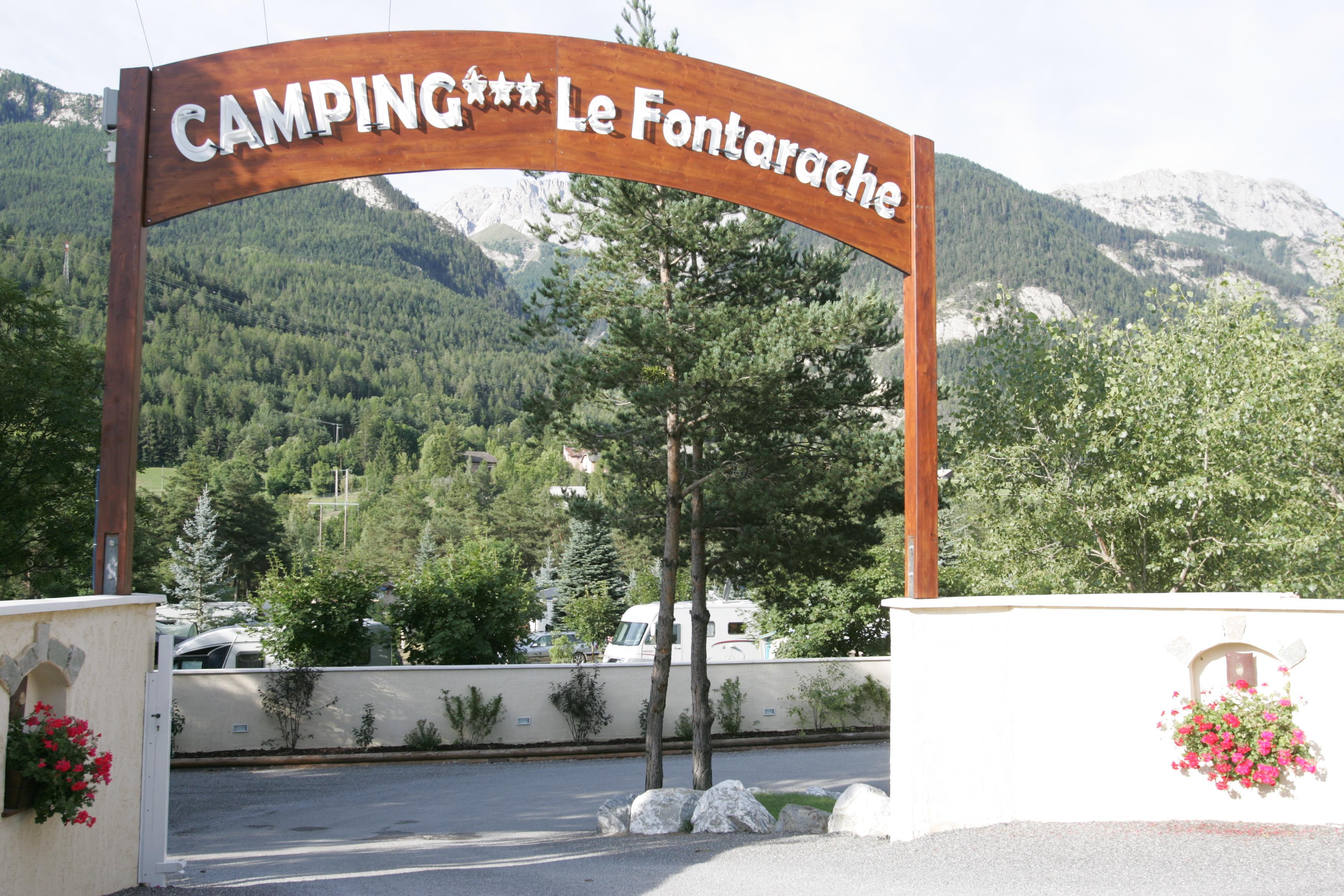 Camping le Fontarache, Barcelonnette, Alpes-de-Haute-Provence