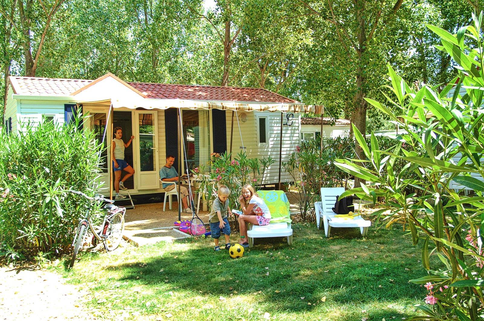 Location - Mexico Classic, Confort - Samedi - 2 Chambres - Camping L'Air Marin