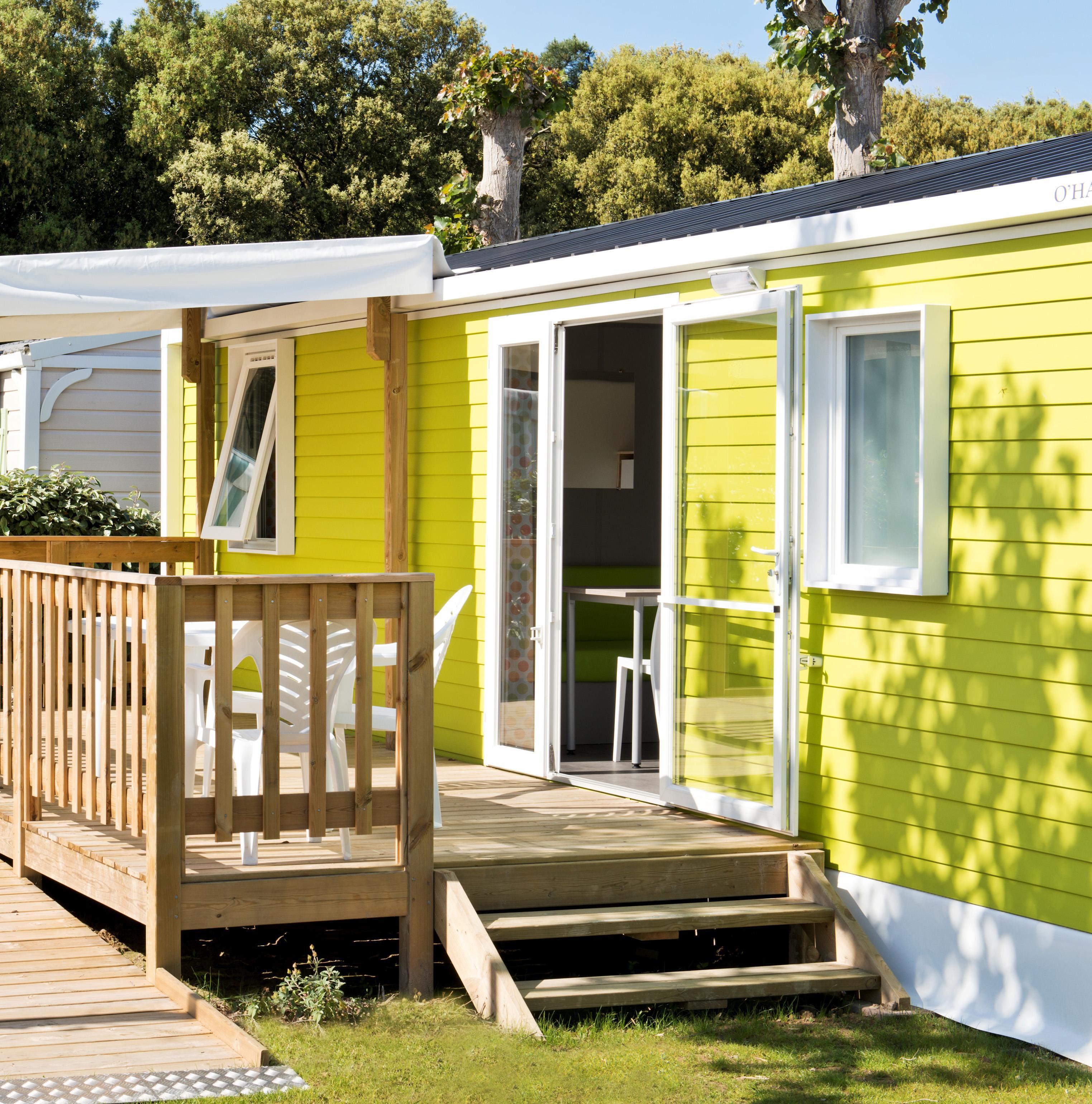 Location - Handi Casa, Pmr, Tv, Samedi - 2 Chambres - Camping L'Air Marin