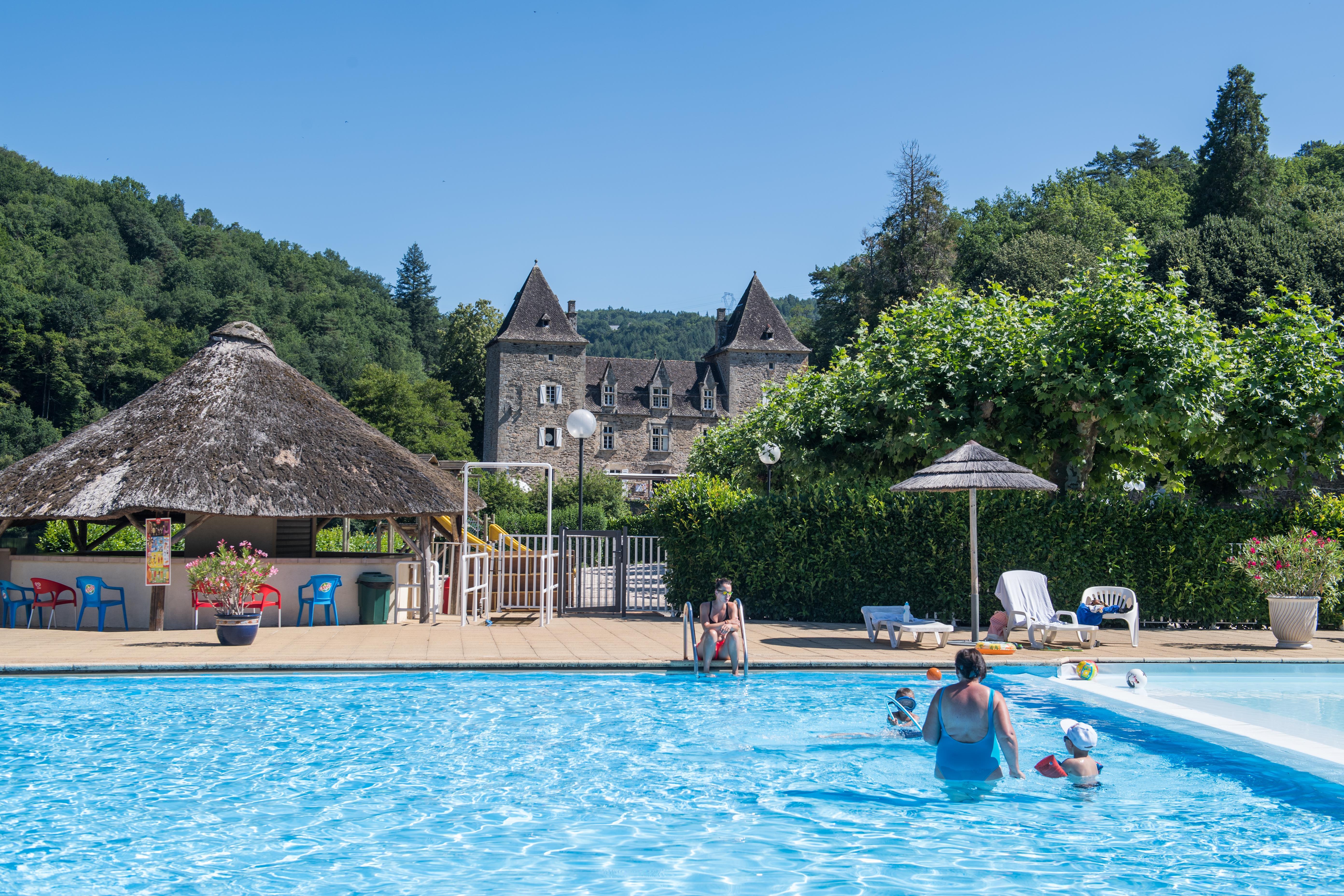 Camping Château du Gibanel, Argentat, Corrèze