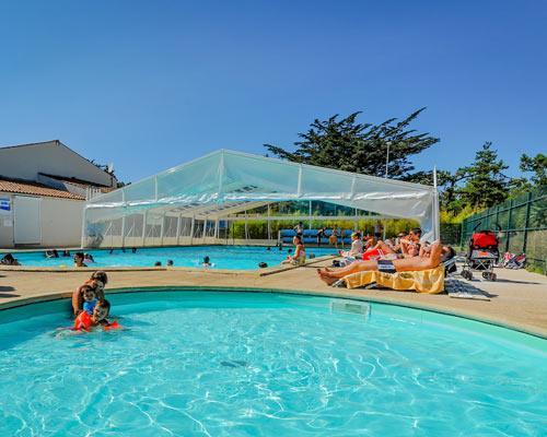 Camping les Sables Vigniers Plage, Saint-Georges-d'Oléron, Charente-Maritime