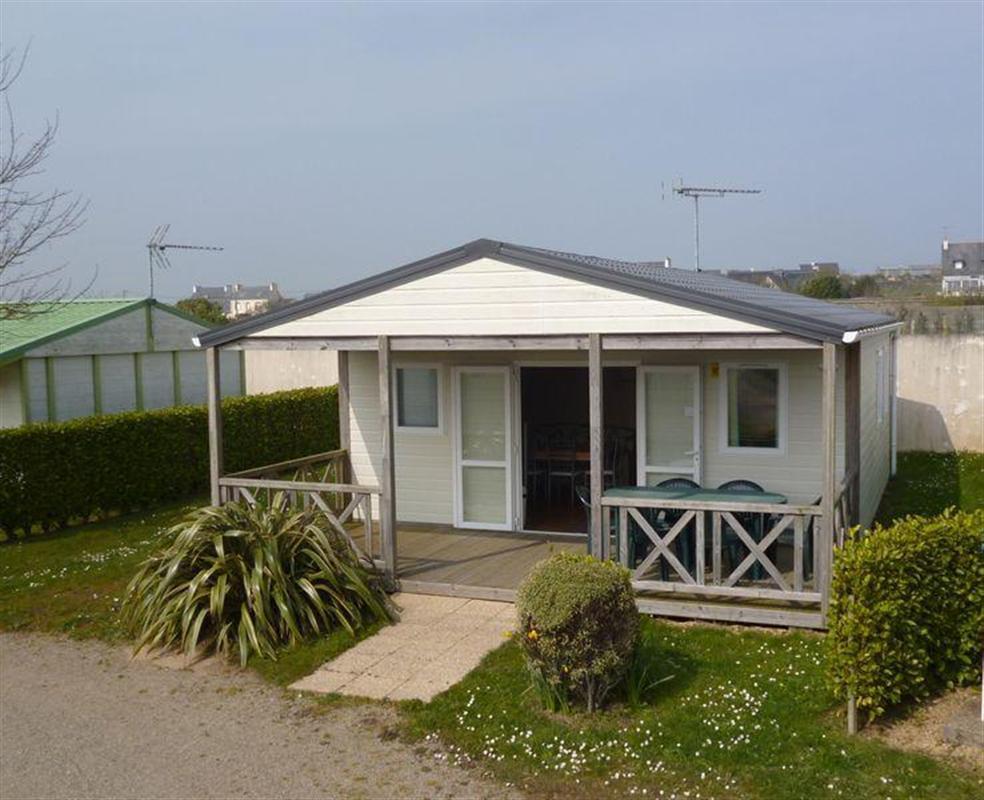 Location - Chalet Confort 35M² (3 Chambres) + Terrasse Couverte 12M² - Camping La Corniche
