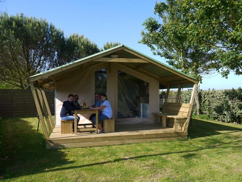 Location - Freeflower Confort + 22M² 2 Chambres + Terrasse Couverte 8M² - Camping La Corniche