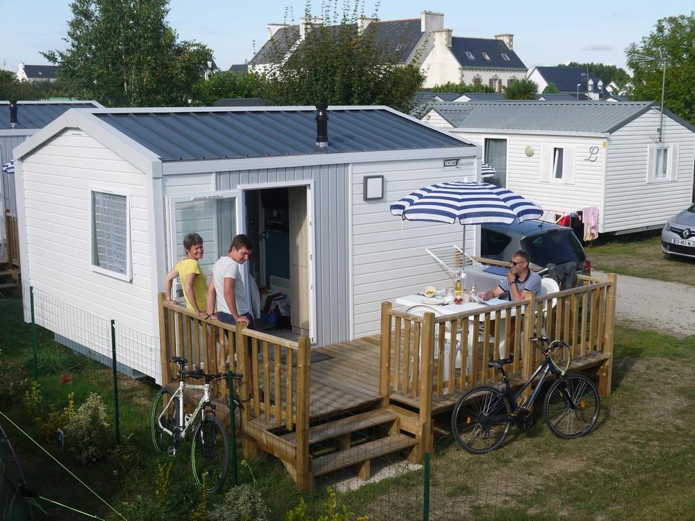 Location - Formule Hôtelière 1 Chambre (Lits Faits À L'arrivée...) - Camping La Corniche