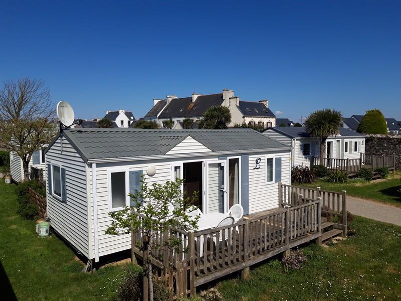Location - Mobil-Home Confort 30M² (2 Chambres) + Terrasse 15 M² - Camping La Corniche