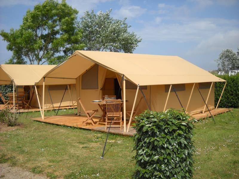 Location - Tente Meublée Eco 20M² (2 Ch 4 Per) + Auvent Di - Camping La Corniche