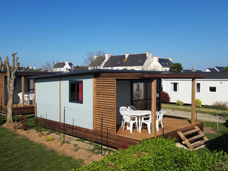 Location - Chalet 25 M² 2 Ch 5 Per Confort+ Nouveaute 2021 ! - Camping La Corniche