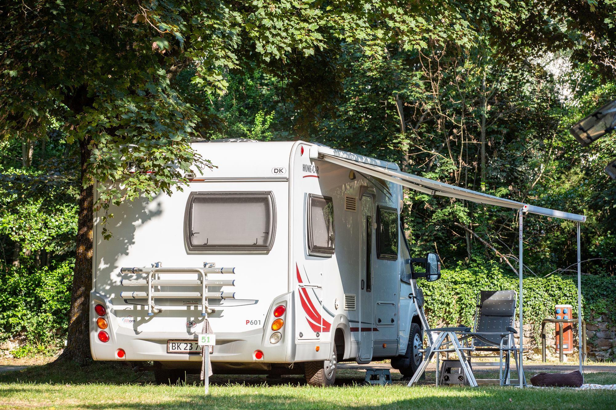 Camping de Bouthezard, Le Puy-en-Velay, Haute-Loire