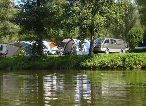Emplacement - Emplacement Pour Camping-Car, Caravane Ou Tente - Campingplatz Naabtal