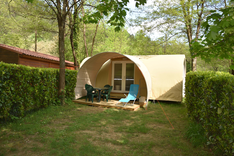 Camping les Drouilhèdes, Bessèges, Gard