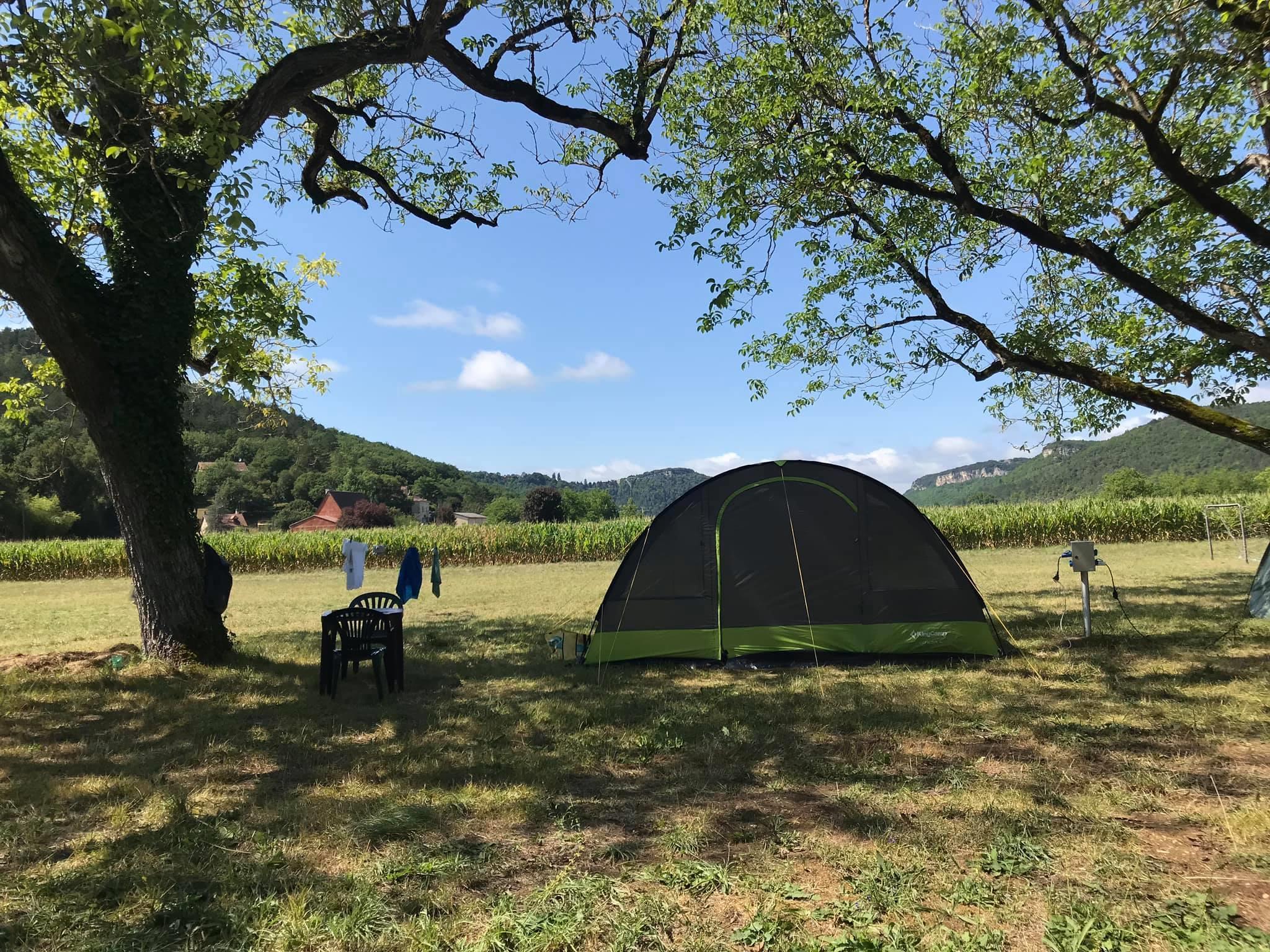 Camping le Céou, Saint-Cybranet, Dordogne