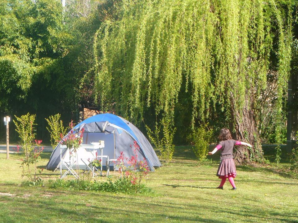 Camping la Grenouille, Goudargues, Gard