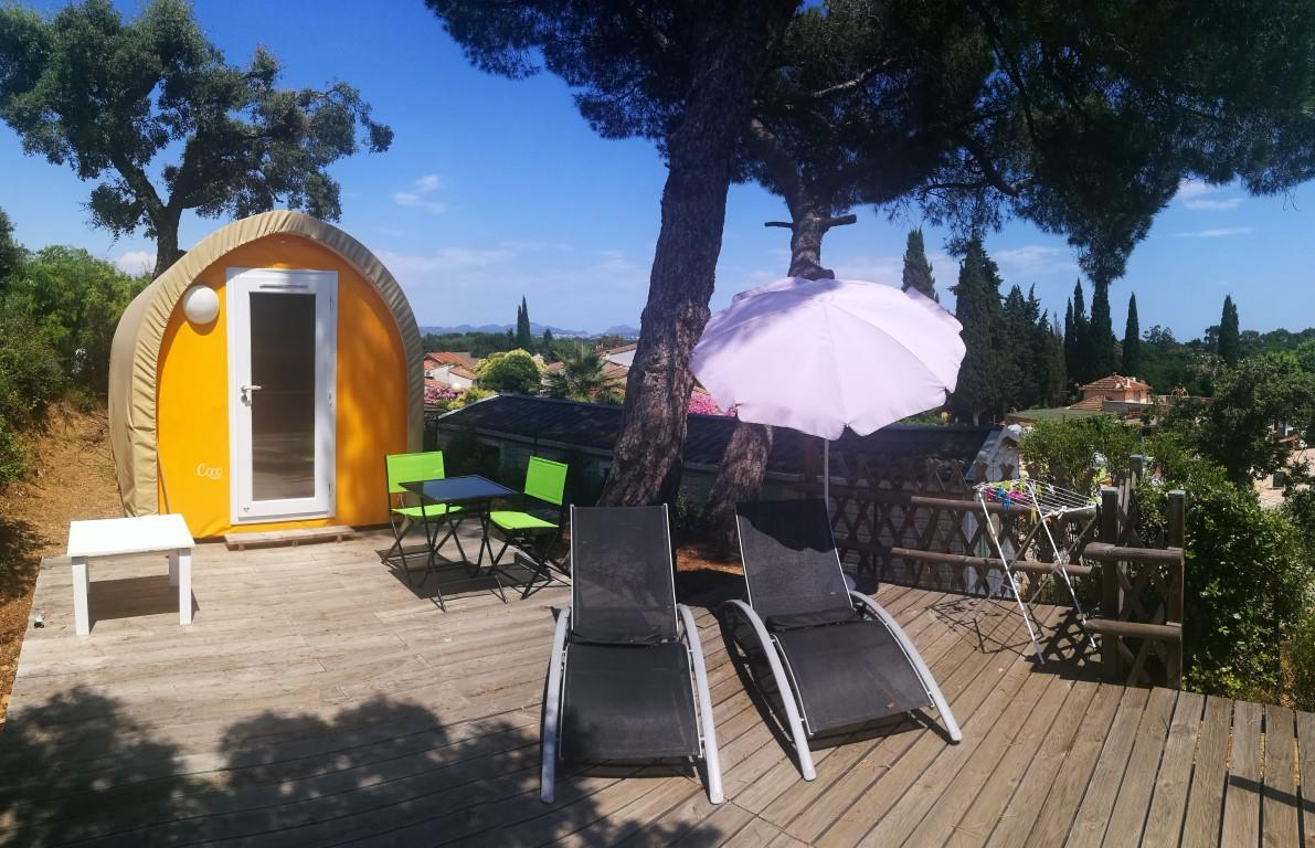 Location - Coco Sweet Duo (Sans Sanitaires) - Camping Les Lauriers Roses