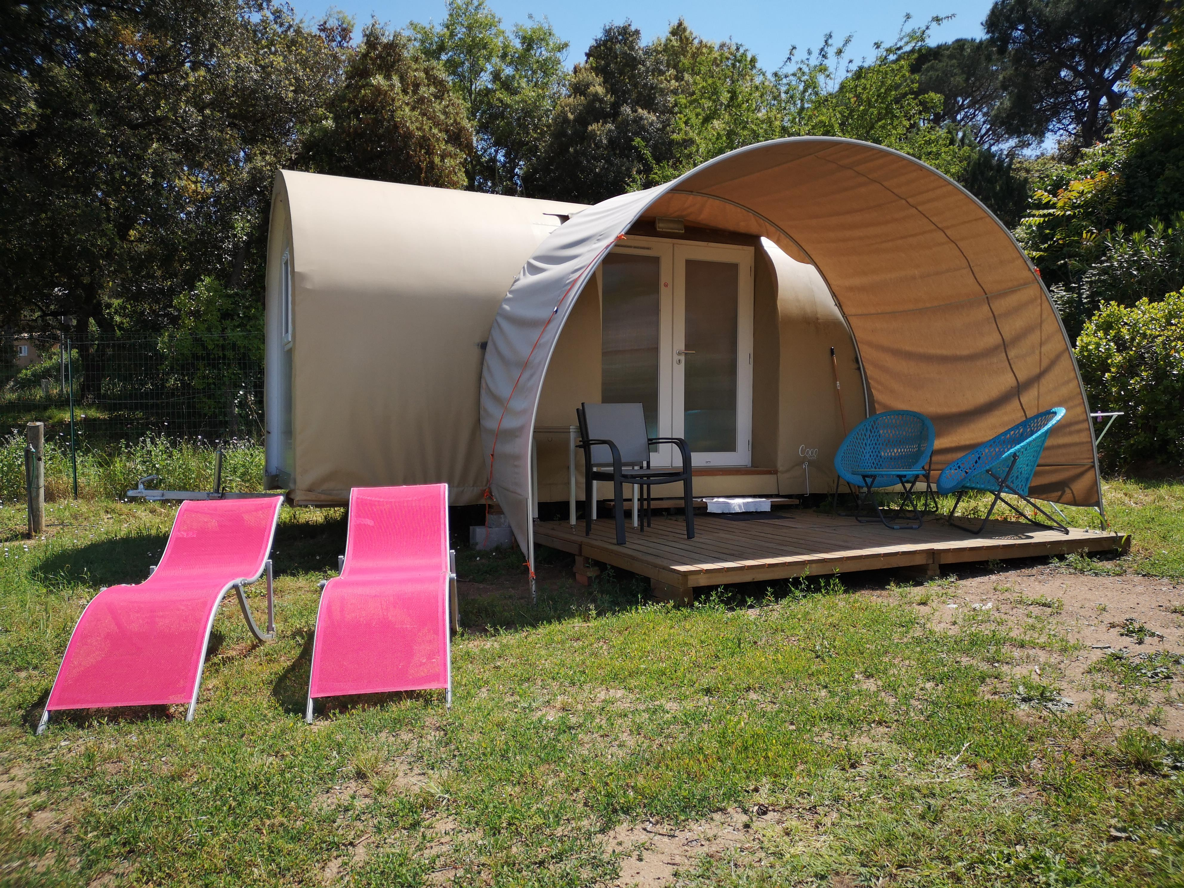 Location - Coco Sweet Quatro (Sans Sanitaires) - Camping Les Lauriers Roses