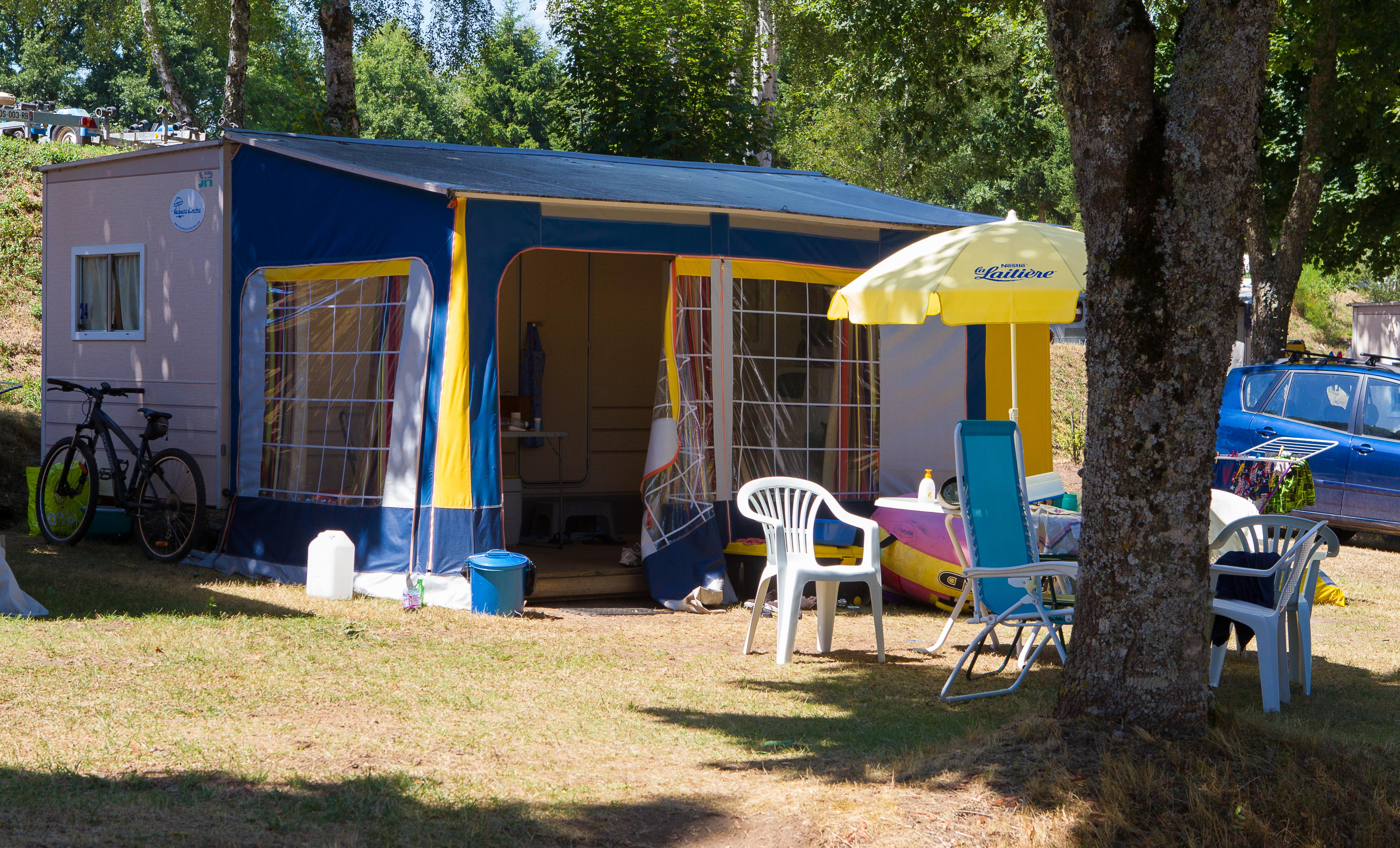Caravan Tracinelle 11M2 Without Sanitary Equipments, Arrival Day At Sunday In The High Season