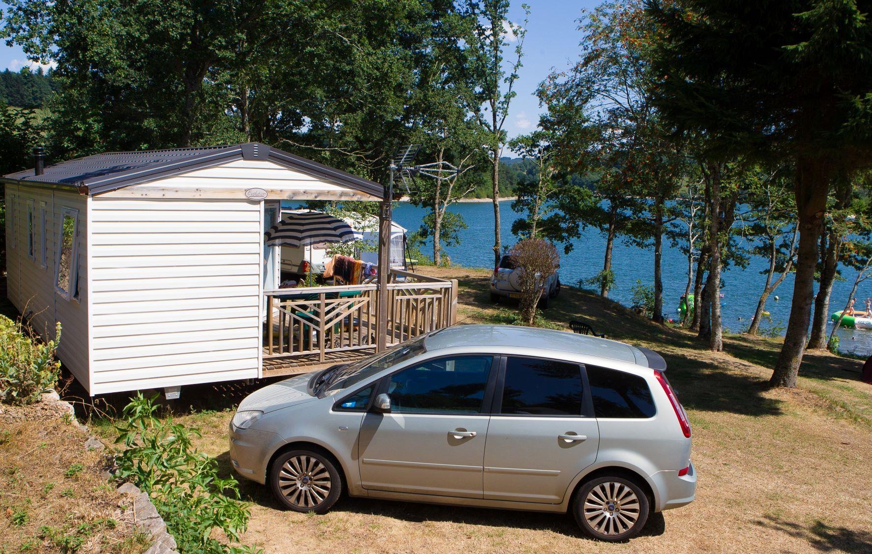 Accommodation - Mobile-Home Trigano Evolution Ti N°7 And 21. Lake View. Year 2014, Arrival Day On Monday In The High Season - Camping SOLEIL LEVANT