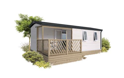 Mobile-Home Irm Loggia 2 Compact 31M2. Year 2021, Arrival Day On Sunday In The High Season