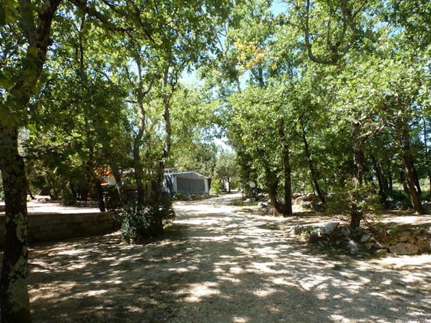 Camping la Buissière, Barjac, Gard