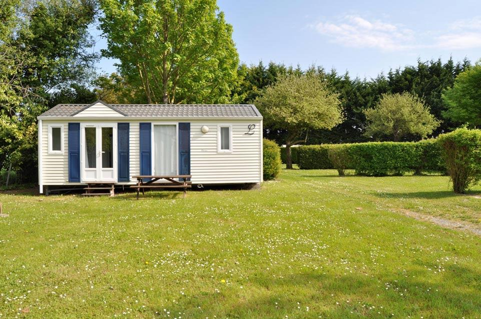 Location - Mobilhome 2 Chambres 30M² - Camping Les Couesnons