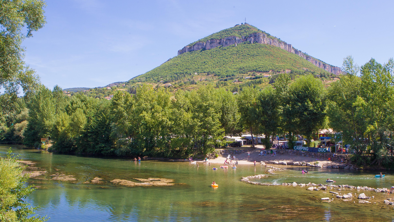 Camping du Viaduc, Millau, Aveyron